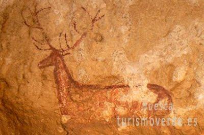 TURISMO VERDE HUESCA. Pinturas rupestres rio vero